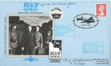 Battle of Britain veterans signed cover. 1995 Reac