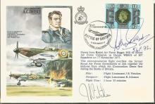 Battle of Britain veteran Dennis Secretan signed c