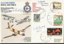 Battle of Britain veteran Arnold John Lauder signe