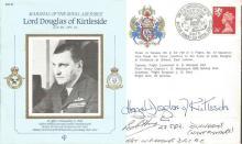 Battle of Britain veteran Bob Hughes signed cover.