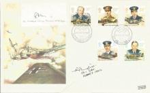 Battle of Britain veterans signed cover. 1986 Kenl