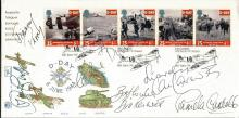Dad's Army cast signed cover. Lovely 1994 50th Ann