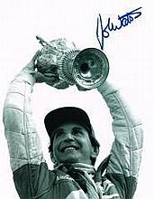 John Watson F1 Driver  Signed 10 X 8 Good conditio