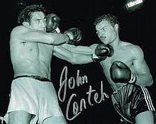 John Conteh British Boxer Signed 10 X 8 Good condi