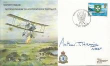 Arthur Bomber Harris signed Sopwith Tabloid Bomber Command cover. Good cond