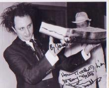 Ken Dodd. A 10x8 picture. Good condition. All signed items come with a Cert