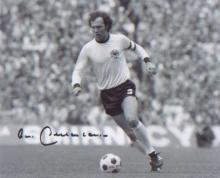Franz Beckenbauer. 10x8 picture. Excellent. Good condition. All signed item