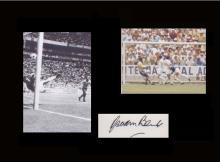 World Cup 1970. Gordon Banks. A signature of England goalkeeper Gordon Bank