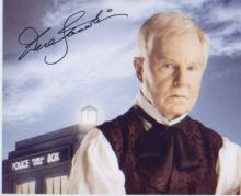 Dr Who - Derek Jacobi. 10x8 picture in character as The Master. Excellent.