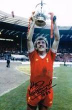 Alan Kennedy Liverpool Fc Signed 12 X 8 Good condition. All signed items co