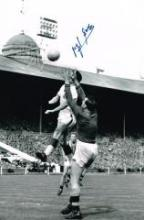 Nigel Simms Aston Villa 1957 Signed 12 X 8 Good condition. All signed items