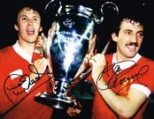 Phil Neal Alan Kennedy Liverpool Dual Signed 10 X 8 Good condition. All sig