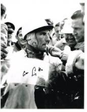 Stirling Moss 10 X 8 Good condition. All signed items come with a Certifica