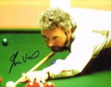 John Virgo Snooker 10 X 8 Good condition. All signed items come with a Cert