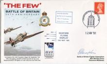 Battle of Britain: Battle of Britain cover signed by Sgt Pilot Cyril Hamps