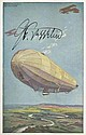 Count Ferdinand von Zeppelin signed colour