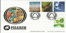Life & Earth Pilgrim official cover. No 48 of 100. 4/4/00 Ballymena postmark. Catalogues at £20. Good condition