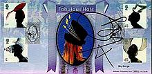 Boy George signed Benham official FDC 2001 BLCS209R Hats 2500. Good condition