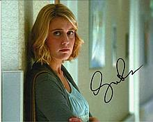 Greta Gerwig signed colour 10x8 photo. Good condition