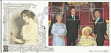 HM Queen Elizabeth the Queen Mother Benham 22ct gold FDC with St Pauls Walden, Hitchin postmark. Catalogues at £20+. Good condition