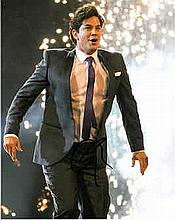 Adam Garcia 8x10 photo of Adam dancing, signed at The Olivier Awards, London, 2015