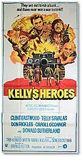 """""""Kelly's Heroes"""" (1970, Indian 3 sheet film poster, folded Good condition"""