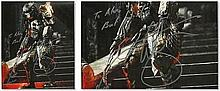 "Ian Whyte signed colour 10""x8"" photo from Alien vs. Predator. Dedicated to Alex. Good Condition"