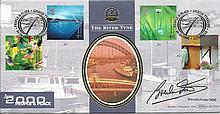 Brendan Foster signed Benham official FDC 2000 BLCS185S People & Places. Good condition