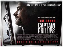 """Captain Phillips"" UK Quad Poster, kindly donated by Cineworld Good condition"