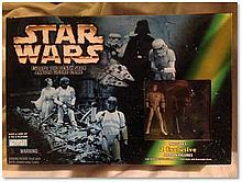 """""""Star Wars: Escape the Death Star"""" Action Figure Game, released in 1998. Excellent conditionm Good condition"""