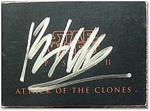 """""""Star Wars Episode II: Attack of The Clones"""" booklet, signed on the front by Ewan McGregor (Obi-Wan Kenobi Good condition"""