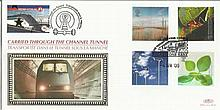 2000 Life & Earth Benham Channel official Tunnel FDC with £1 Railway letter stamp & Historic Channel Tunnel postmark. Carried through the tunnel with special cachet. Good condition