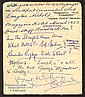 Duncan Edwards signed card. Unusual vintage page,