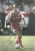 Memit Scholl in German strip signed colour 12x8 photo. Good condition