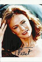 Jacqueline Bisset signed colour photo. Good condition