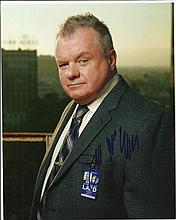 Jack McGee signed colour 10x8 photo. American television and film character