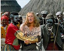 Kathleen Turner 10x8 colour photo of Kathleen from Jewel Of The Nile, signe