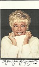 Julie Goodyear signed colour photo