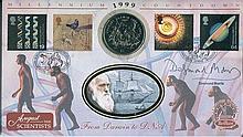 Signed Benham Official Coin FDC - Benham Millennium Countdown coin FDC 'Fro