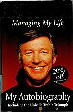 Alex Ferguson signed Hardback book Autobiography Managing My Life. Good con