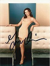 Geena Davies signed colour 6x5 photo. Good condition