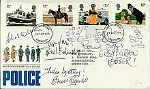 Great Train Robbery, 1979 Police GPO FDC with neat typed address signed by