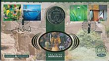 Signed Benham Official Coin FDC - Benham 'The New Millennium' coin FDC 'The