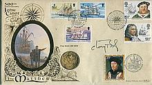 Signed Benham Official Coin FDC - Benham coin FDC 500th ann. of John Cabot