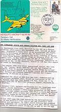 Wing Commander Roy Ralston MAM4 signed personally for collector by Wing Com