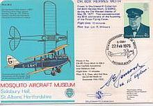 Icelandic fighter ace MAM2 commemorative cover personally signed for collec