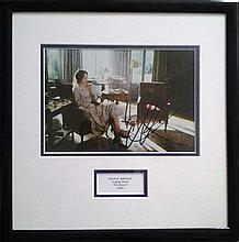 Nicole Kidman signed 10 x 8 colour photo from The Hours framed and mounted