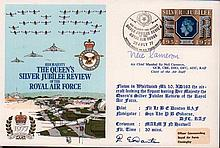 Neil Cameron signed cover. 1977 Queen's Silver Jubilee Review cover signed