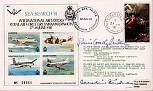 Denis Crowley - Milling signed cover. 1981 Sea Search cover signed by Battl