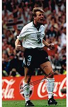 Stuart Pearce autographed football photo. High quality colour 16x12 inch ph